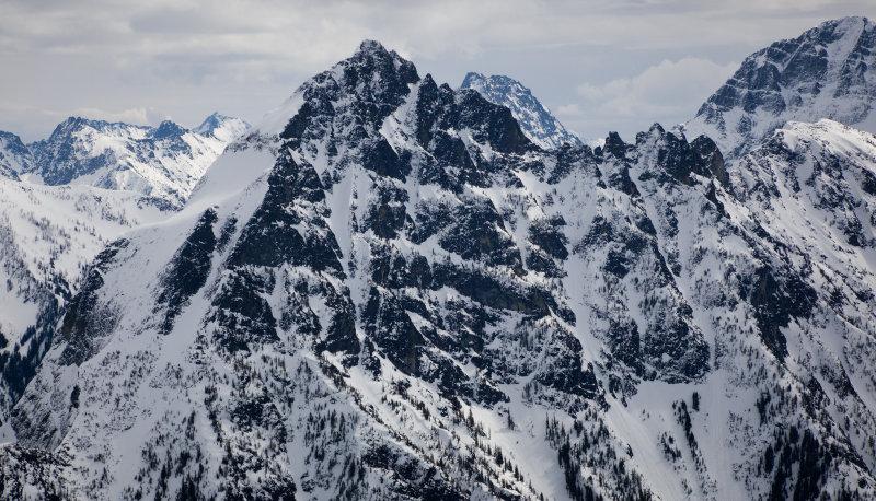 Needle Peak From The East <br>(DarkNeedle_032713_005-4.jpg)