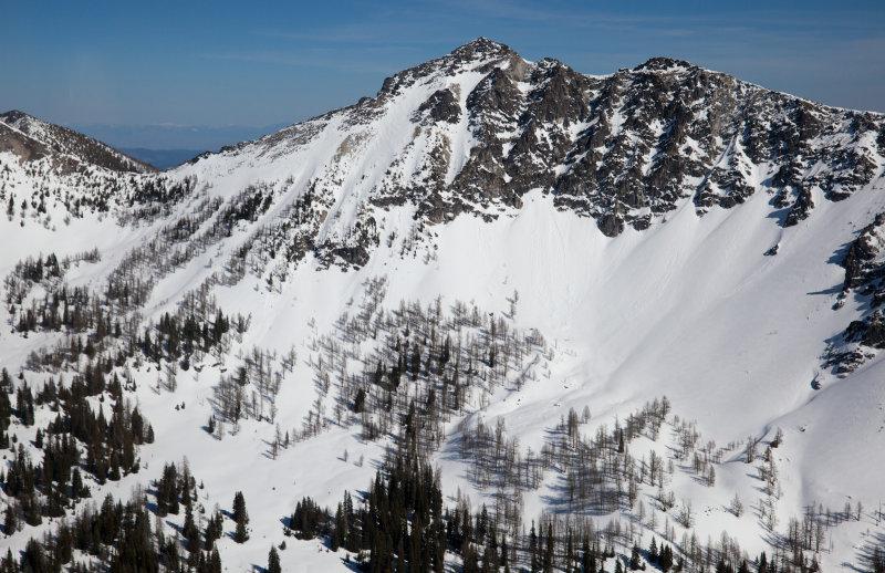Martin Peak, West Face <br>(MS_040113_006-3.jpg)