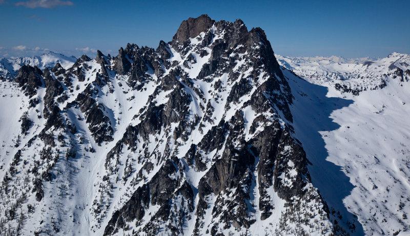 Argonaut Peak From The South <br> (SE_040113_095-3.jpg)