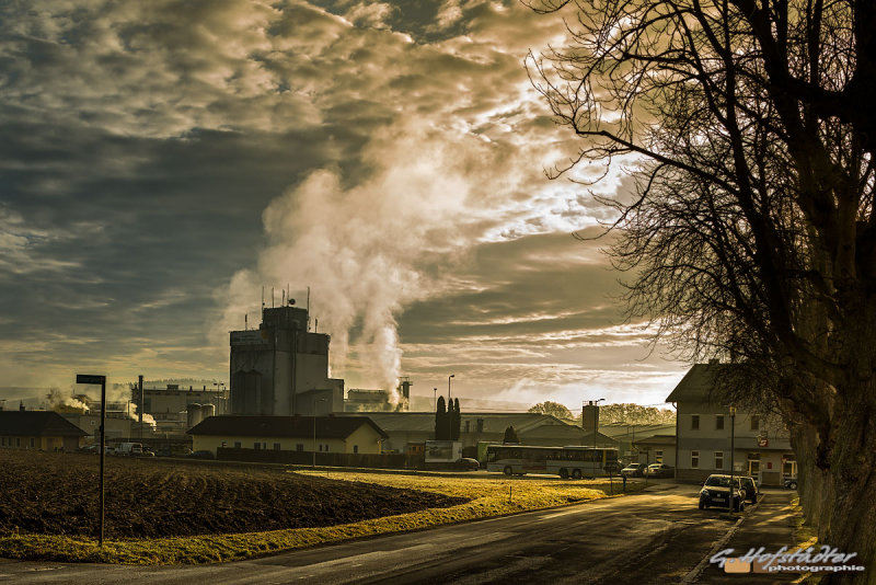 Sugar Factory next to the Railwaystation of Hartberg - Styria