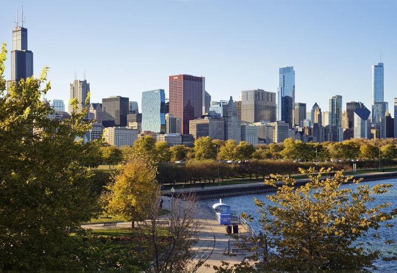 Chicago Fall Skyline