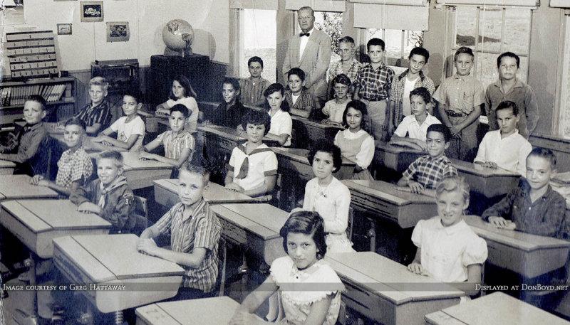 1958-59 - Mr. Willard Chinns 5th grade class at Palm Springs Elementary School, Hialeah