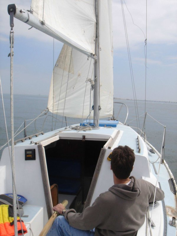 Sailing (sic) is no fun like this