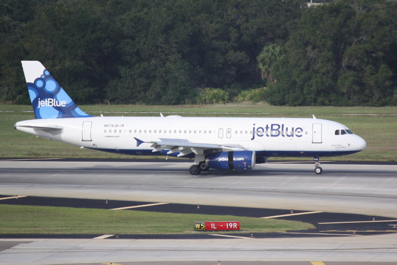 Airbus A320 (N579JB) Cant Stop Lovin Blue