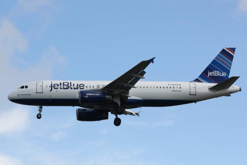 Airbus A320 (N594JB) Whole Lotta Blue