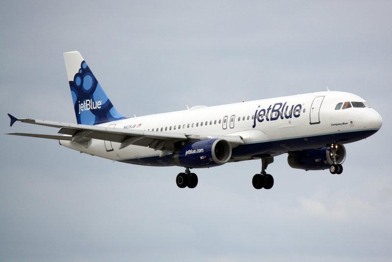 Airbus A320 (N625JB) Company Blue