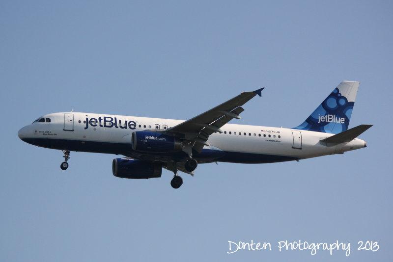 Airbus A320 (N570JB) Devil With A Blue Dress On