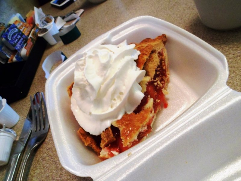 Rhubarb Pie at Lake Cafe - Big Lake.jpg
