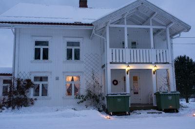 Lille julaften, på besøk på Byrud hvor søsteren til Karin bor