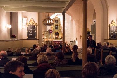 Senere på konsert i Eidsvoll Kirke