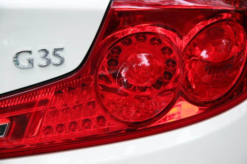 Infinity G35 Tail Lights