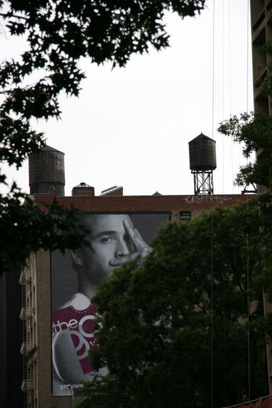 Gap Billboard at Wooster Street
