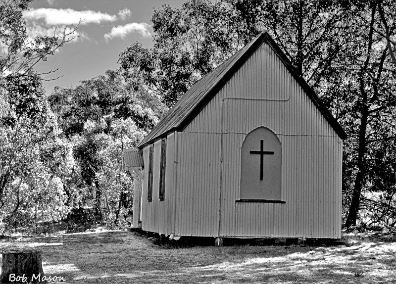 Hill End...A really old Church...