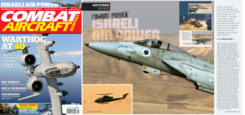 Combat Aircraft Monthly Magazine. March 2013