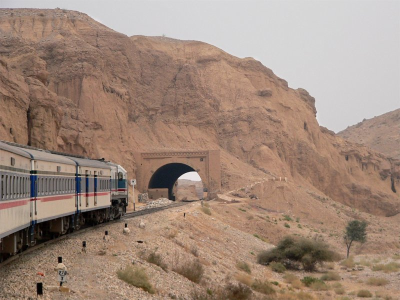 The train approaching one of the many tunnels on the way to Sibi - 513.jpg