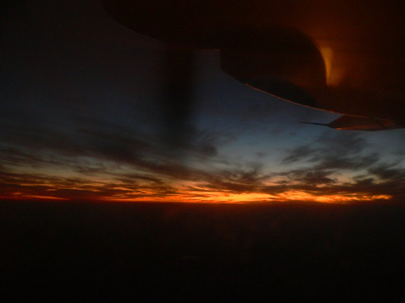 Beautiful Sunset, moments after Take-off from Peshawar- 042.jpg