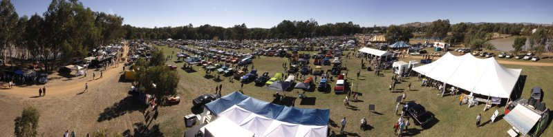 Panorama of 2013 Chryslers on the Murray