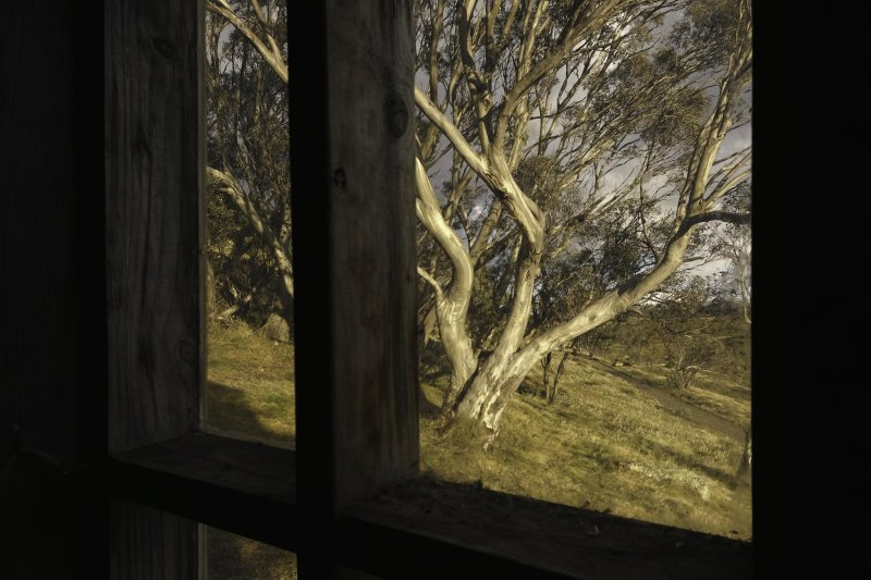 Cope Hut Window View