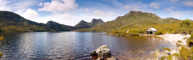 The boat shed on Dove Lake @ Cradle Mountain, Tasmania