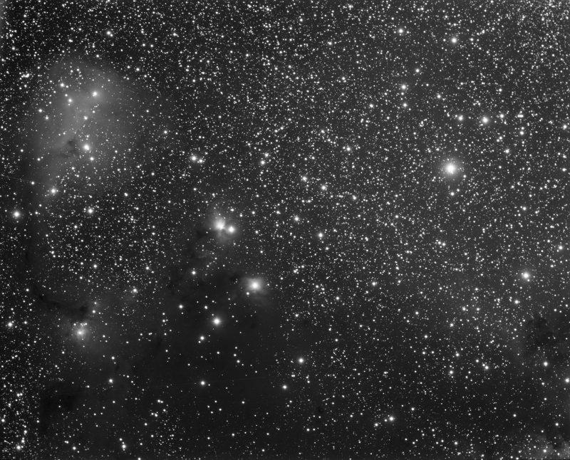 Officina Stellare Veloce RH 200 Second Light - IC 446, IC 447, IC 2169, NGC 2245, NGC 2247