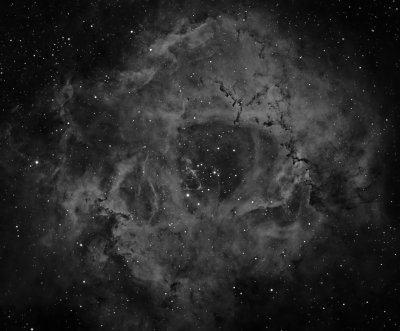 Officina Stellare Veloce RH 200 First Light - The Rosette Nebula