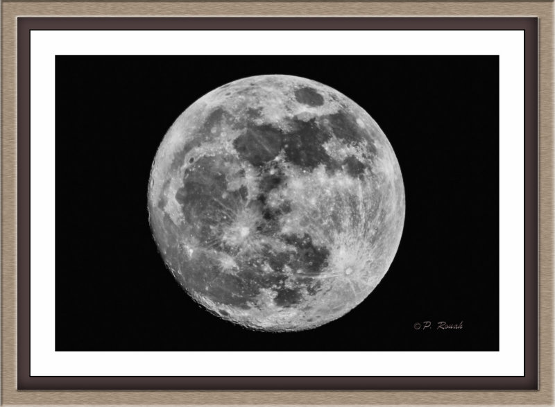 Full Moon on the French Riviera - 5661