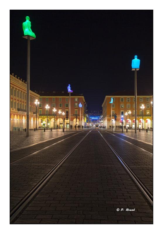 IPS-2 Nice les rails de Massena at Night - 0440