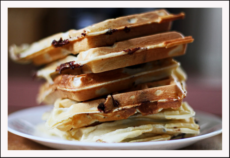 IMG_6802 Chocolate chip waffles ...