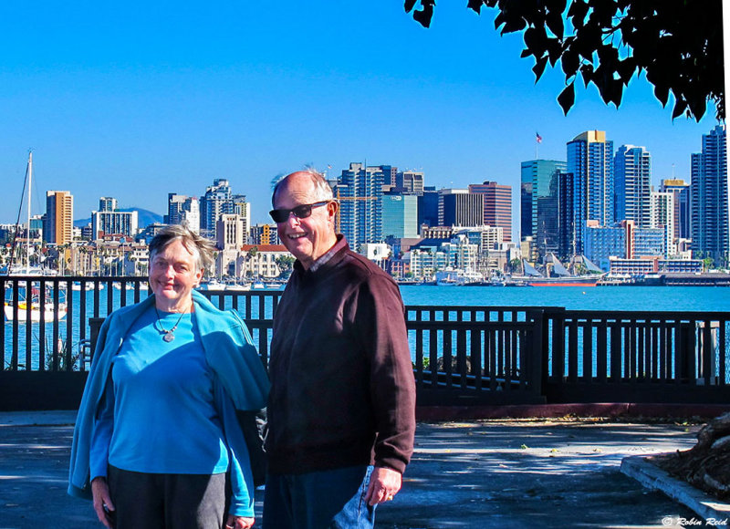 Judy and Dave in SD