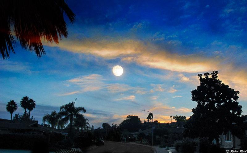 Sunset on Verano