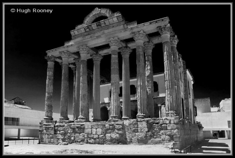 Spain - Merida - Temple of Diana