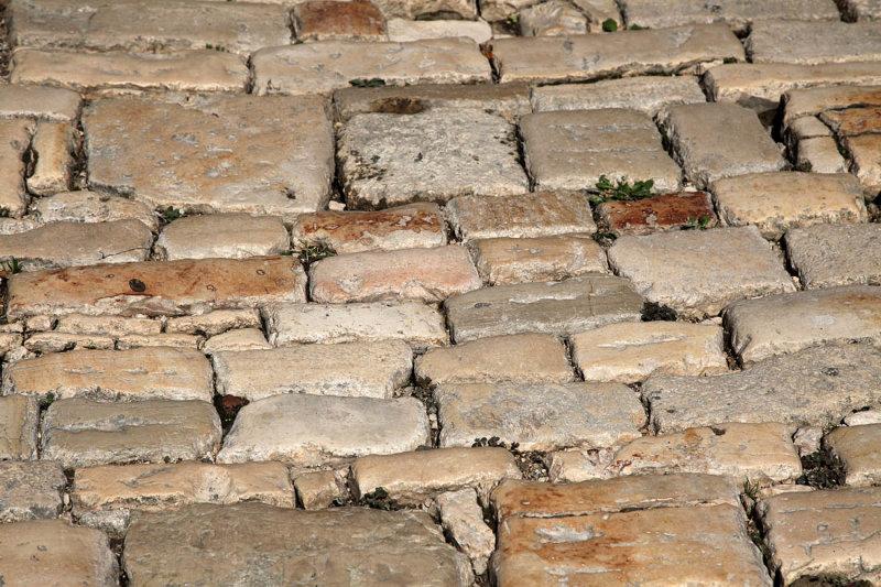 Cobblestones in Rovinj