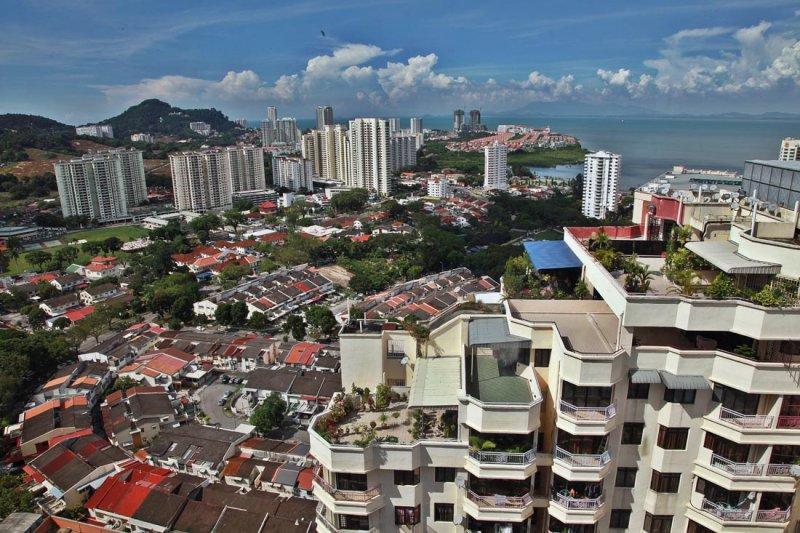 View from Berjaya Hotel Georgetown