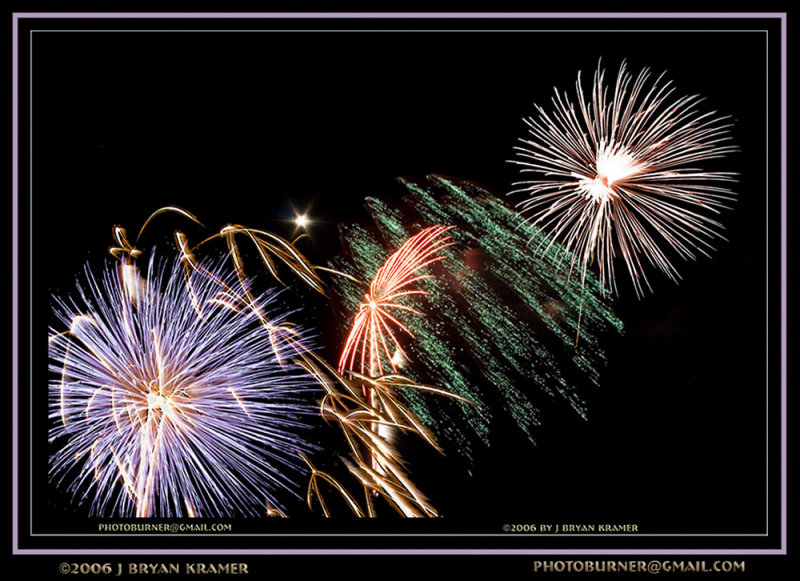 Fanfare and fireworks