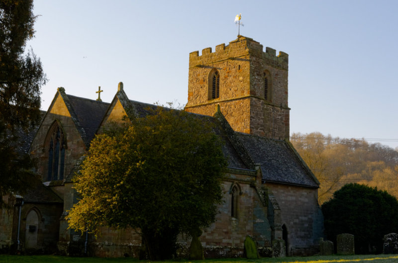 Eastnor Church - north view