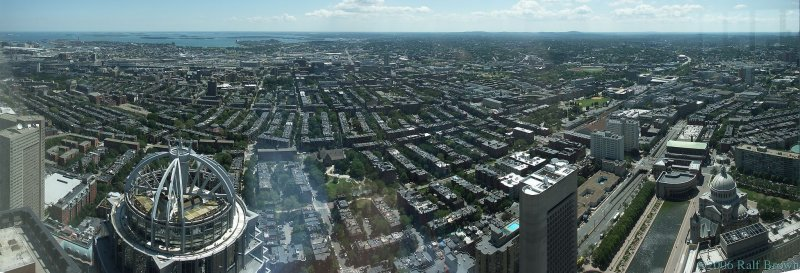 Prudential Tower Boston, view south