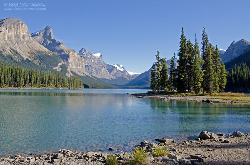 Spirit-Island, maligne lake