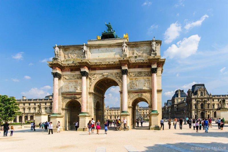 Larc de triomphe du carrousel du Louvre