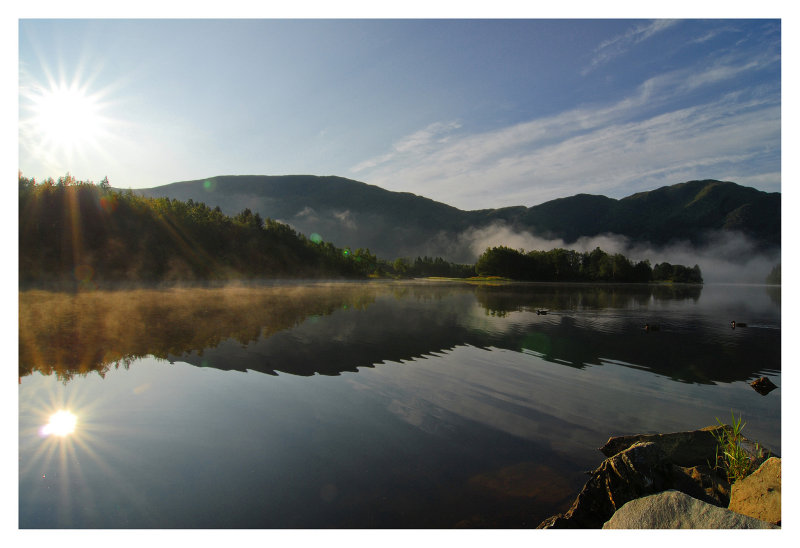 Morning near Bergen