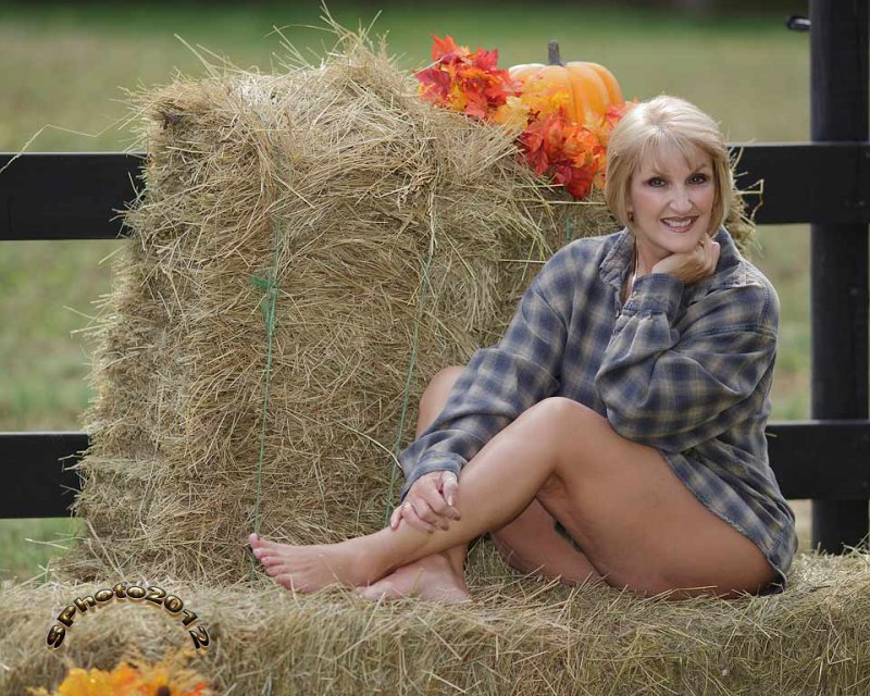 flannel shirt and hay oct 2012.jpg