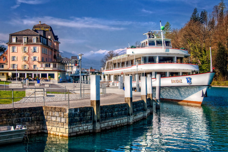 The Brienz, Hotel du Lac, Interlaken
