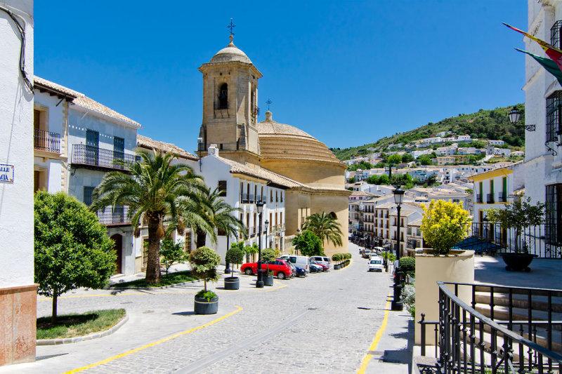 Towards the Iglesia de la Encarnación, Montefrio