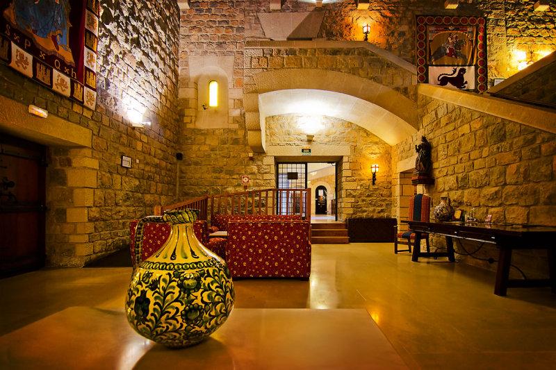 The Great Hall, Castillo de Santa Catalina, Jaen