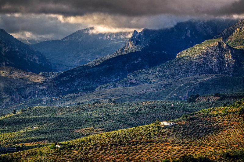 Mountains from Jaen Parador