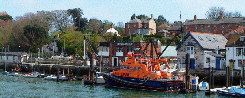 Lifeboat station, Weymouth (1992)