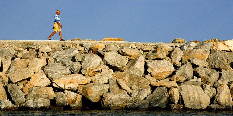 Man with the yellow shorts, Puerto Banus