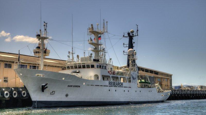 Sea Shepherds Sam Simon