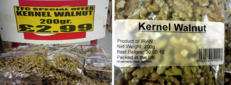 Iranian Kernel Walnut
