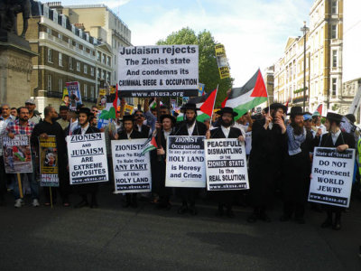 Judaism Rejects the Zionist State