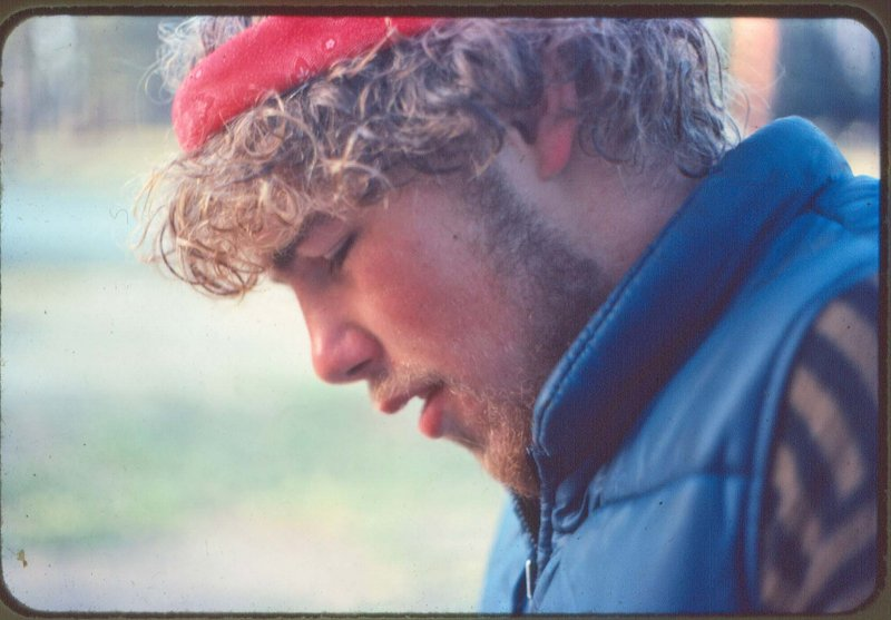 19 Years Old Near Start Of Pacific Crest Trail (April 1977)